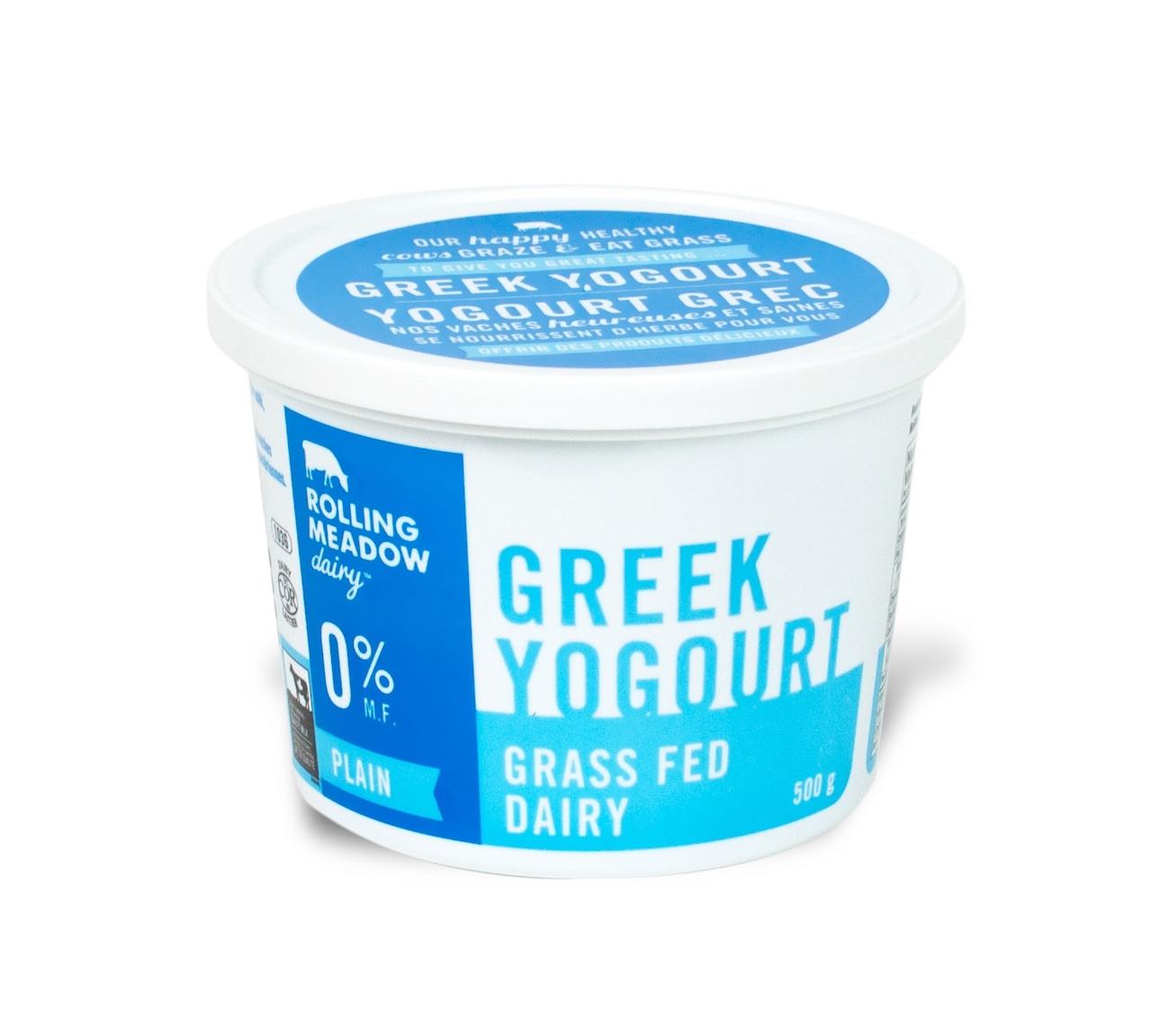 0% Plain Greek Yogourt