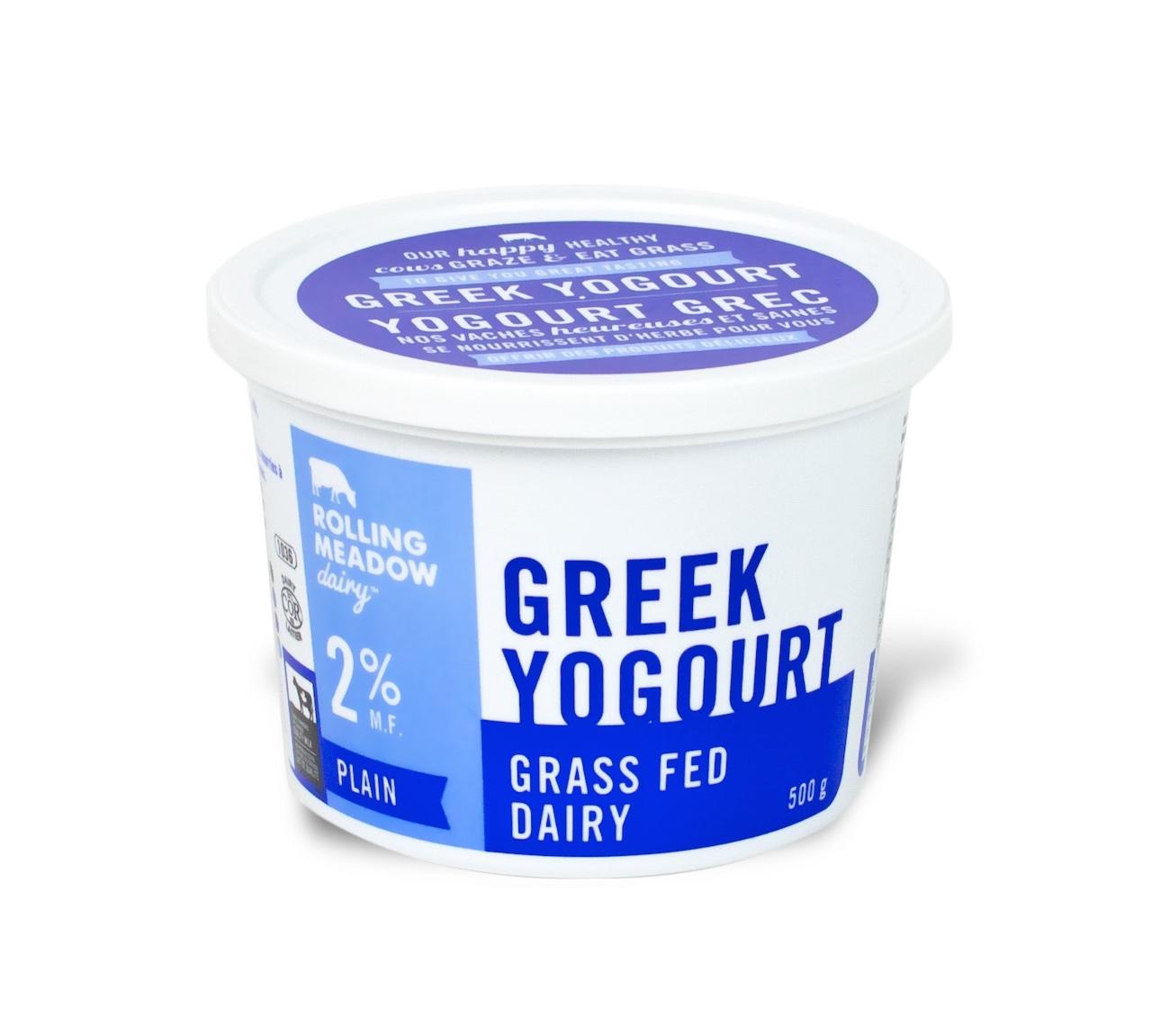 2% Plain Greek Yogourt