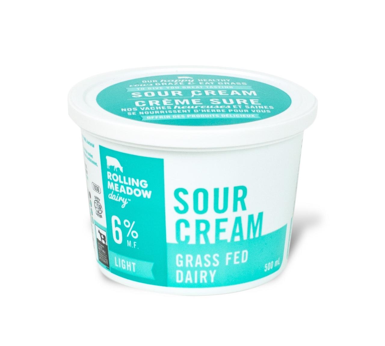6% Light Sour Cream