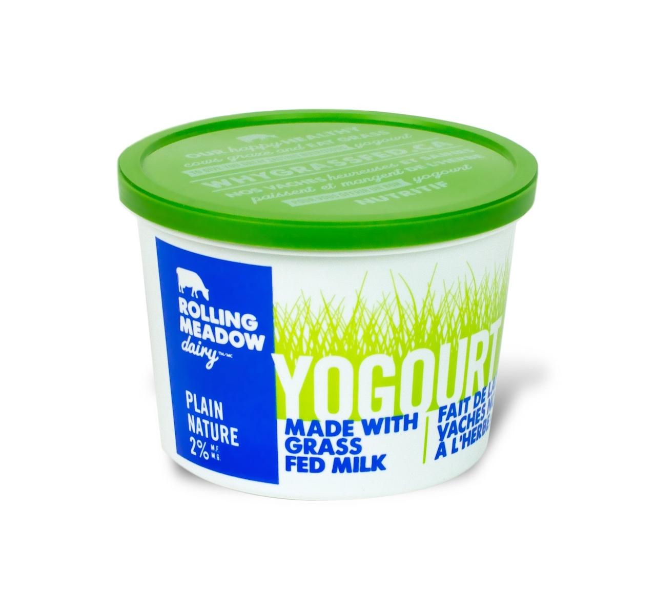 2% Plain Yogourt