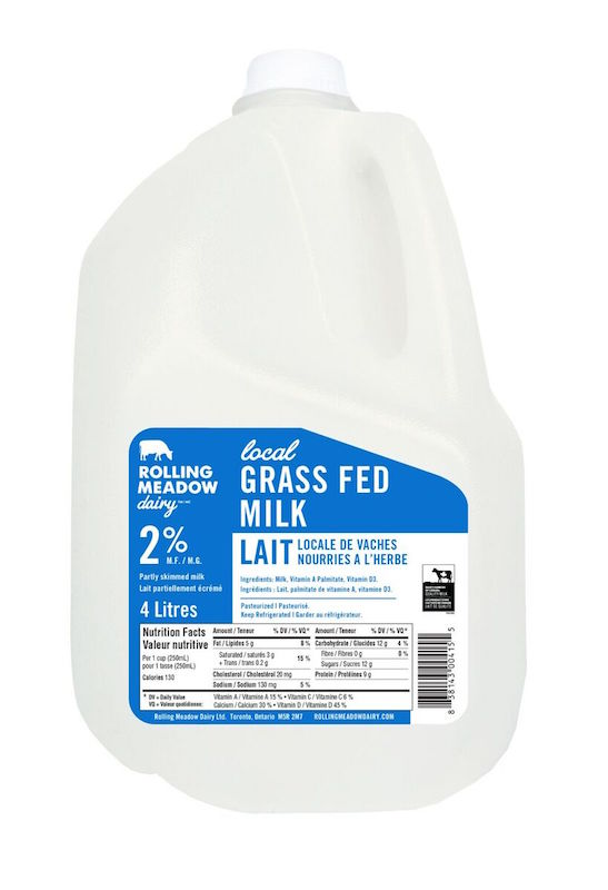 2% Milk - 4L